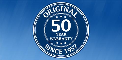 Decra 50 Years Warranty